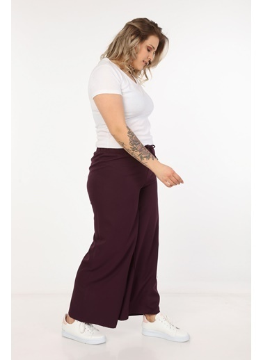 Womenice Pantolon Mürdüm